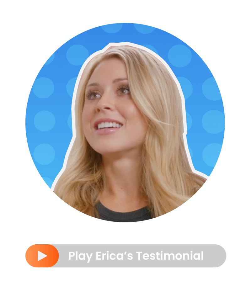 Erica Stenz testimonial