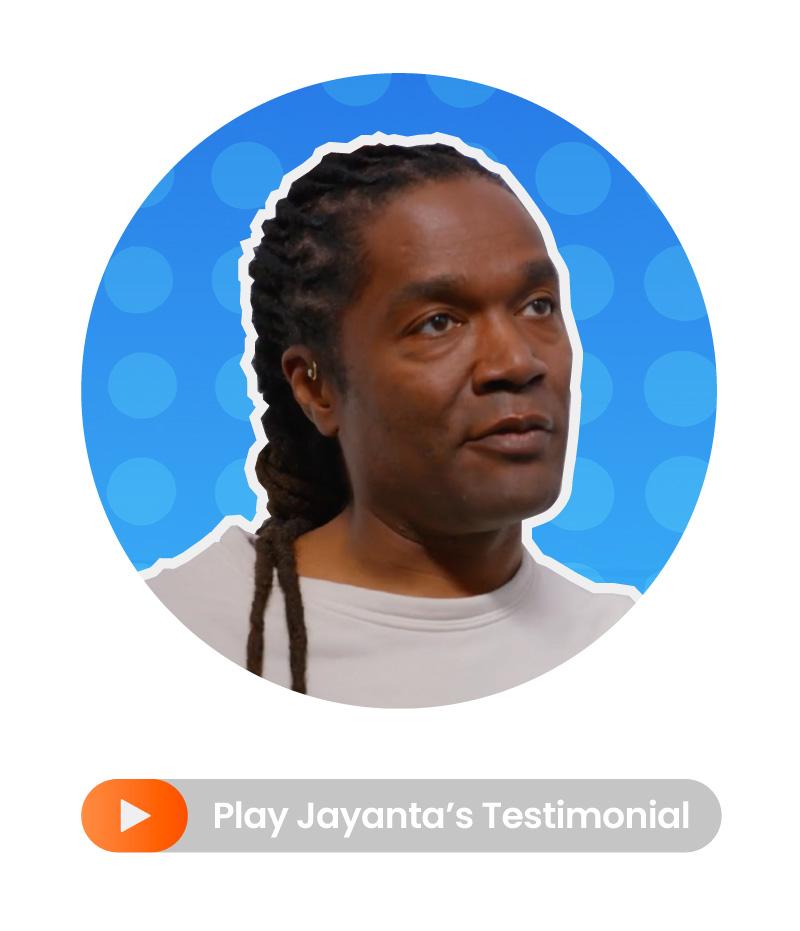 Jayanta Jenkins testimonial